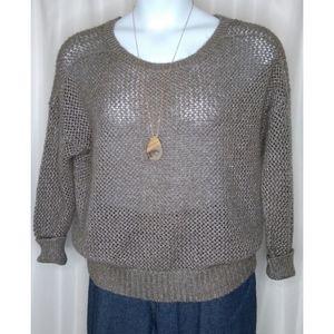 Jennifer Lopez Open Back Sweater